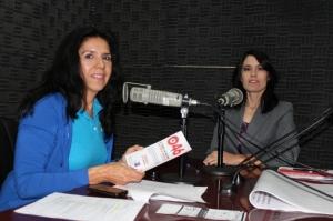 """Con Elsa Núñez en entrevista para el programa: """"Primero la salud"""" de Radio Sonora"""